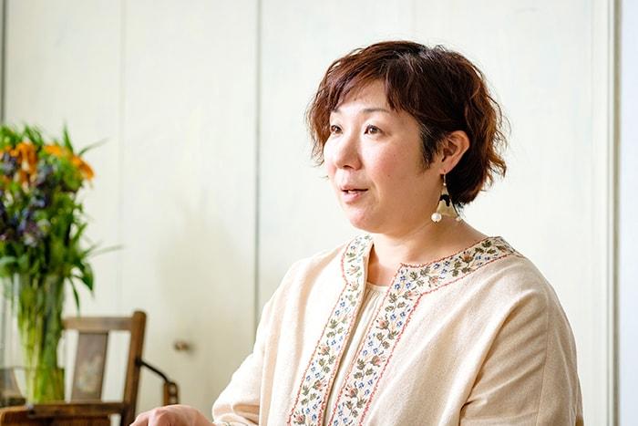 花生師 岡本典子さん