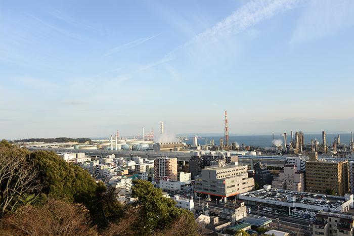 松永さんご夫妻が惚れ込んだ横浜の風景。夜景も素晴らしいとか。