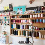 【自宅】糸を収納するのは、実は桐箪笥の引き出し