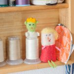 【自宅】人形の素材は布から陶器まで多岐に渡る
