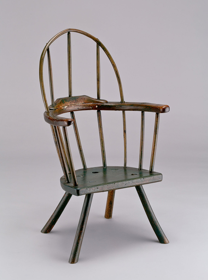 ボウバック・アームチェア イギリス 18世紀 高95㎝ 村田コレクション