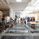 「en[ 縁 ]:アート・オブ・ネクサス」第 15 回ヴェネチア・ ビエンナーレ国際建築展 日本館展示風景