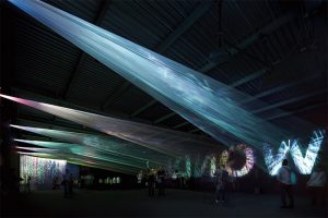 光の織機(Canon Milano Salone) (2011年)©大木大輔