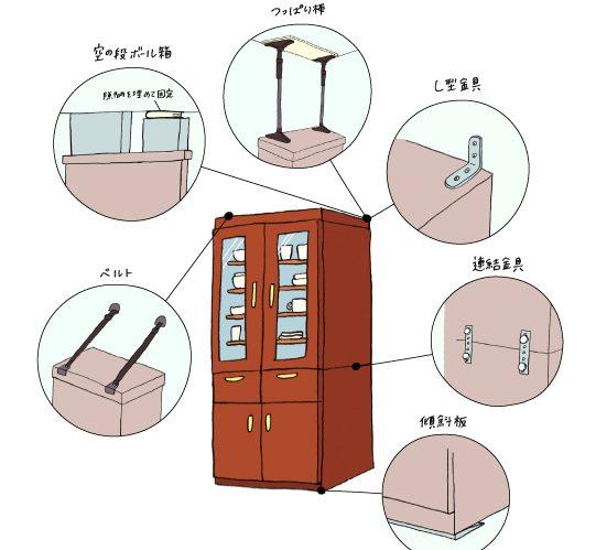 きょうからはじめよう耐震収納のススメ Vol.02