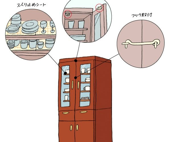 きょうからはじめよう耐震収納のススメ Vol.03