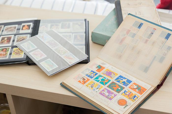古い切手帳
