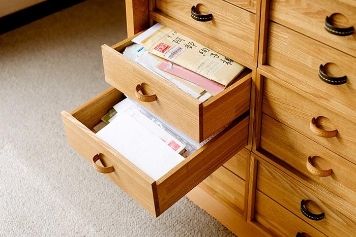 手紙・ハガキの整理収納