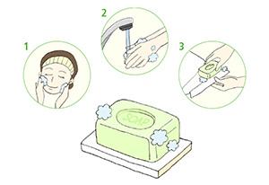コンパクトでも使い勝手のよい洗面台まわりを手に入れる