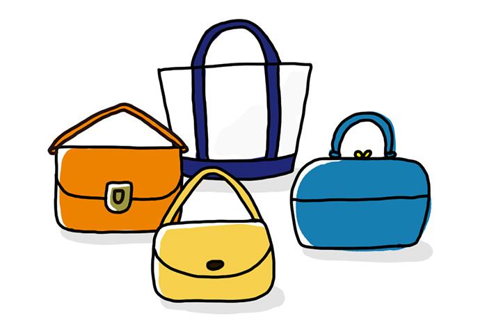大切なバッグをキレイに使うお手入れ&収納