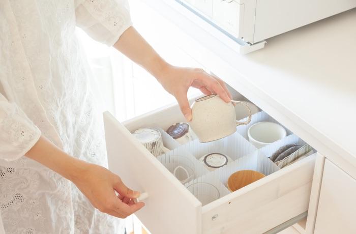 おさよさん家の生活感を隠すキッチン収納インテリア