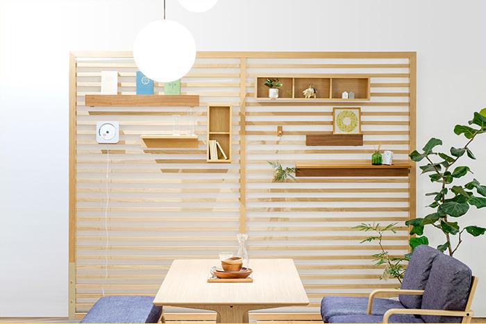 スペースを有効活用!「壁に付けられる収納」