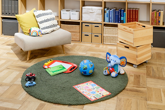子どものおもちゃを楽しく片付けるコツ