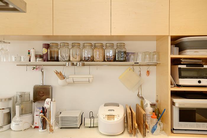 キッチン収納アイディア