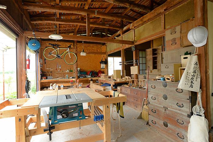 木工のアトリエ