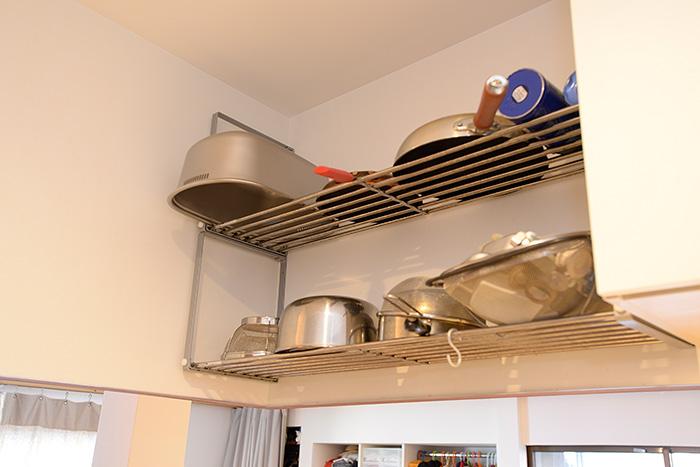 キッチンの吊り棚
