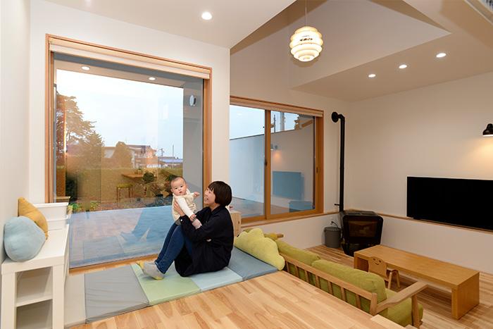 長野県松川村で建てた、北欧スタイルの注文住宅