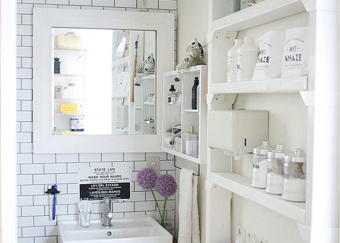 洗面所をおしゃれで清潔に整えるテクニックとは!?《Rumiさん》