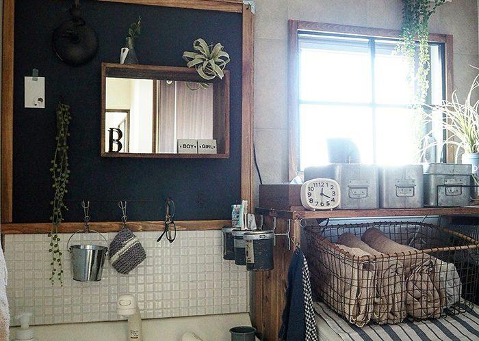 建売住宅の洗面所をセルフリノベで理想の空間へ!《keikoさん》