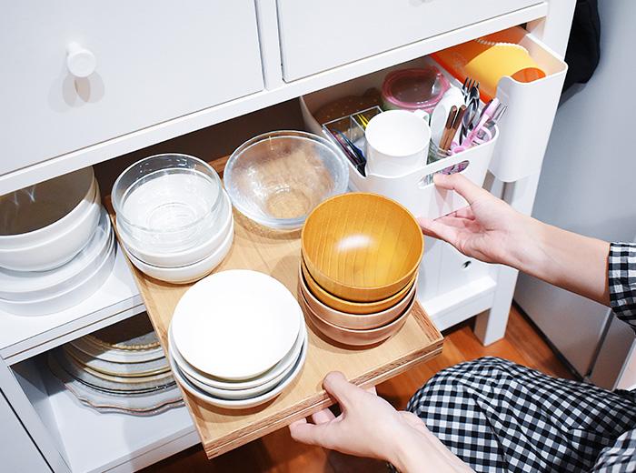 家族の幸せな時をつくるキッチン、小さな工夫をコツコツと。02《おさよさん さん》