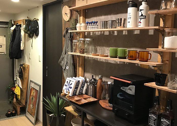 限られたスペースを最大限に活かす、キッチン壁面収納《kazuyaさん》