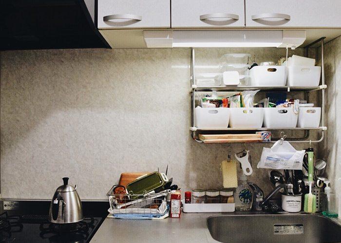 コツは細分化!使い勝手も見た目も良いキッチン収納《ななはちさん》