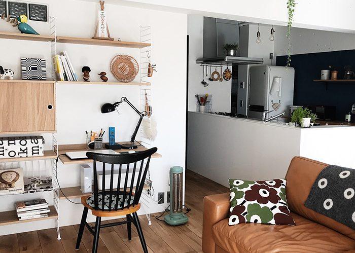 お部屋に合わせた収納家具 ストリングシステム《いがりこさん》