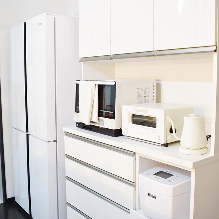 冷蔵庫内もラベリング&容器統一で収納スタイリング!《こんぶさん》