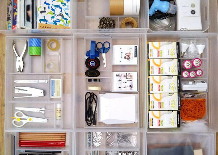 家族全員が使いやすい収納とは?細かいものを集めた収納術《かもめさん》