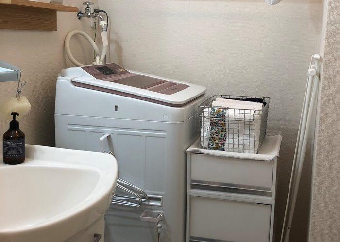 洗面浴室をすっきりさせる、収納マイルール