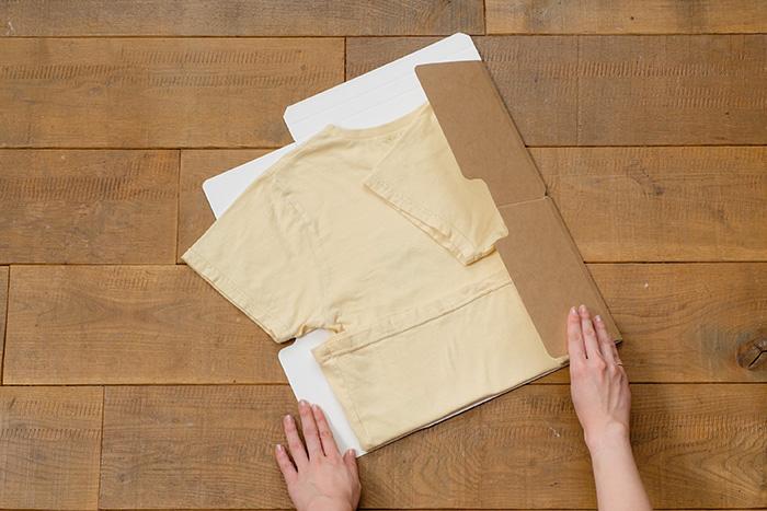 時短&キレイ!新しい衣類収納の形「Tシャツ収納アイテム TATEMU」