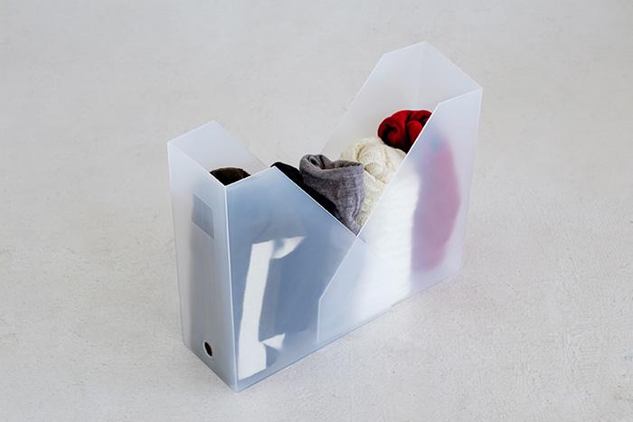 ファイルボックス 収納 実例