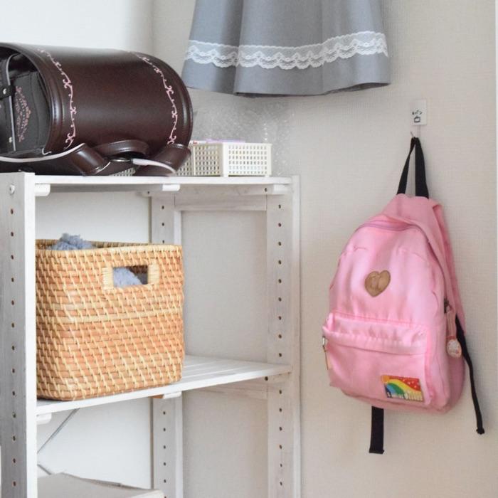 子どもの成長に合わせた、服・勉強道具・おもちゃの収納方法