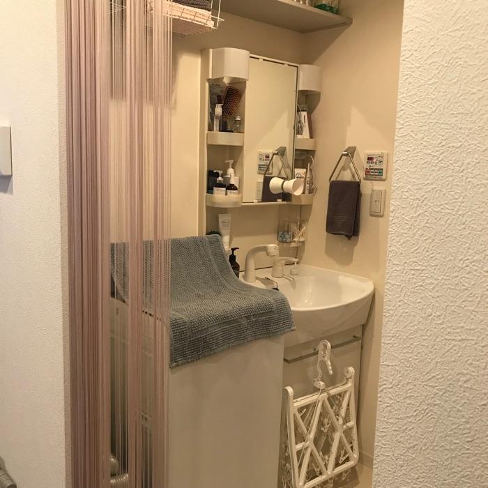 ものの定位置を決める工夫で、きっちり分類!ひとり暮らしの洗面所収納