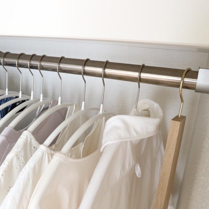お洗濯から衣替えまで、収納しやすく使いやすいウォークインクローゼットの作り方 SAYAさん