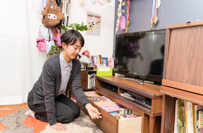 [実践編]使う場所に合わせて家具の配置もプチチェンジ!おもちゃ収納術を学ぶ