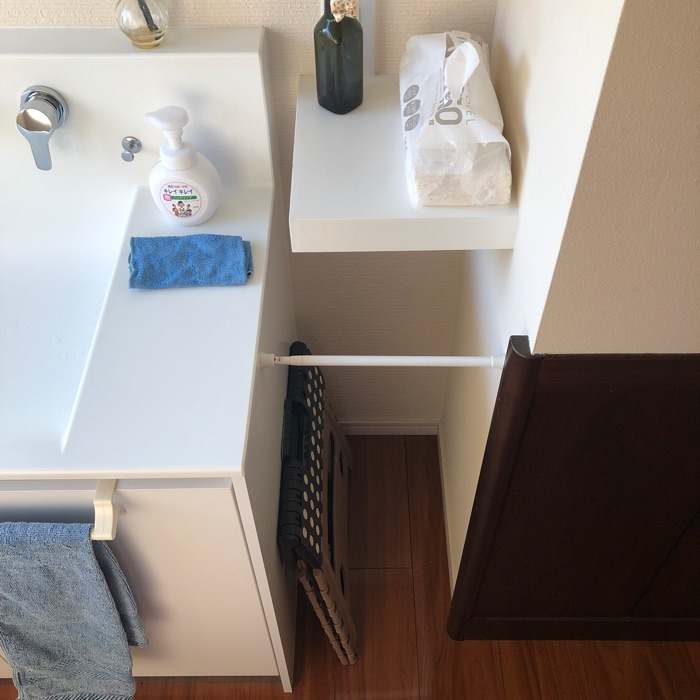 家族だけでなく、使う人みんなの使いやすさを一番に考えた2世帯暮らしの洗面所収納 ゆりさん