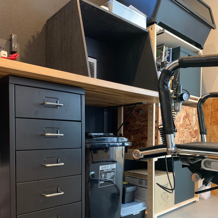 3畳の書斎をフル活用!おしゃれで使いやすく、趣味に没頭できる作業部屋の収納術 noboさん