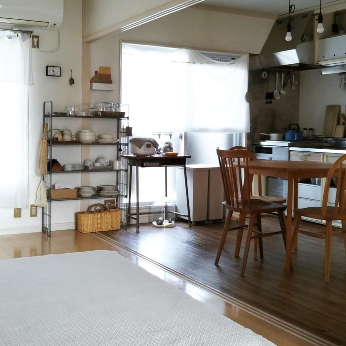 失敗から学び、長く使える家具や収納をセレクト。統一感のあるリビングダイニングとは nabeさん