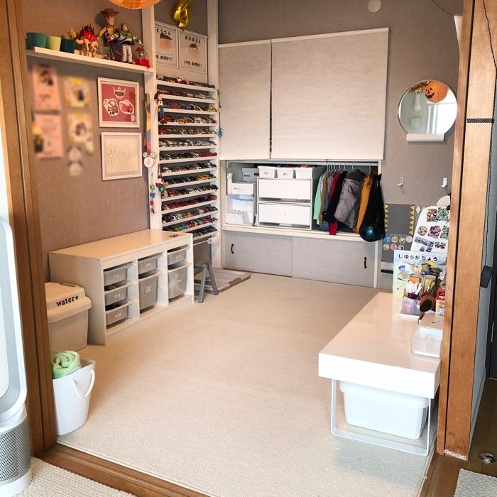 好奇心を育てて、子どもが自分でお片付けしたくなる子ども部屋収納 上田麻希子さん