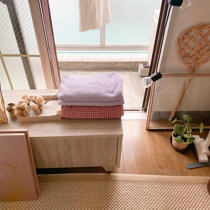 面倒な洗濯作業を効率化する、ベストな収納とインテリアの関係。chiikokoさん