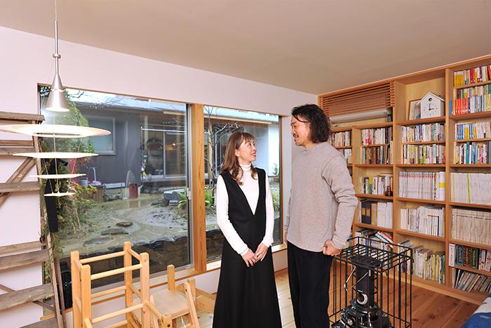 中部地方で注目の建築家夫妻が目指したのは、建築×北欧家具で広げる新しい収納スタイル