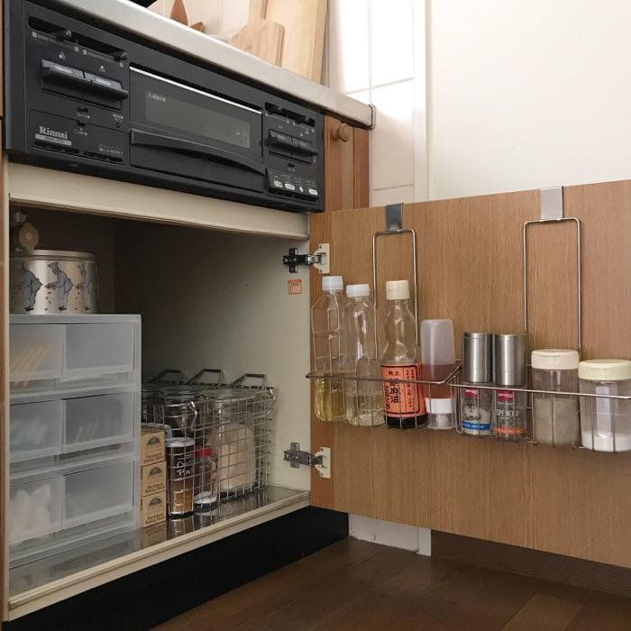 整理整頓しやすい見せる収納で、開放感のあるキッチンに kozueさん