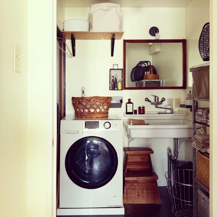 適材適所の収納ボックス選びで、モノが多くても使いやすい洗面所に! 穴吹愛美さん