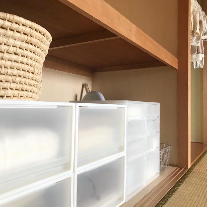 押入れはもちろん、床の間まで収納に。和室を活かしたアイデア収納術 kozueさん