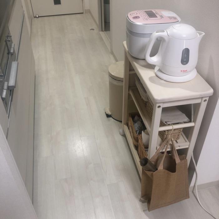 家事動線と取り出しやすさを重視してすっきり!料理の時短につながるキッチン収納 sakkoさん