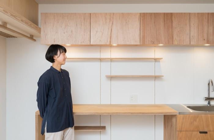 本多さおりさんがマンション購入×フルリノベ! フレキシブルな可動式棚 「シューノ」で収納計画