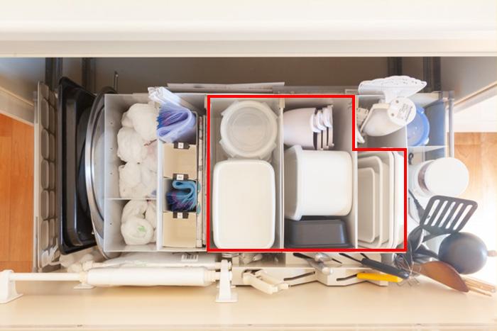 タッパーの収納アイデア集!引き出しや戸棚がごちゃつかない上手な収納実例3選とポイントまとめ