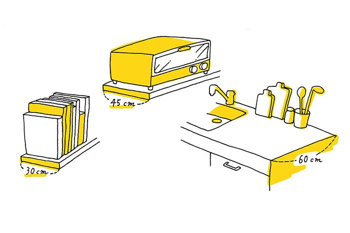 自宅の収納計画のその前に! 収納空間には設計単位「モジュール」があるのを知っていますか?