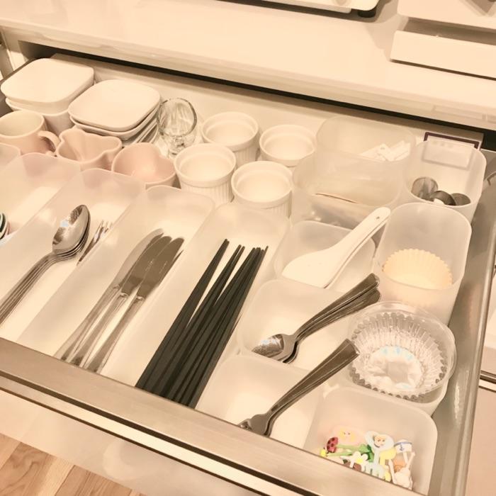 ツールは使う場所の近くに分類して収納。歩き回らず、時短できるキッチンの整理整頓術 NANAKOさん
