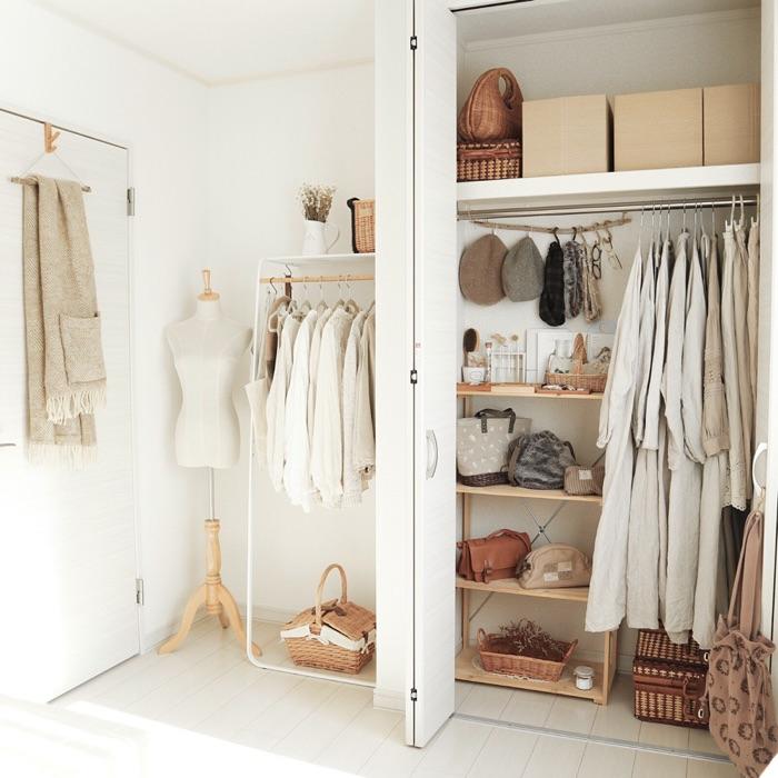 見せる収納と隠す収納で使いやすいお気に入りのクローゼットをつくる方法  sayaka.さん
